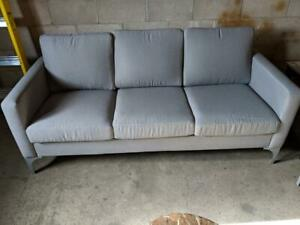 New Floor Model Sofa $500 taxes included compared to $629+Tax on Wayfair