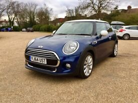 Automatic | 2014 MINI Hatch 1.5 Cooper| Low Miles 10,200 Only |Petrol| Like bmw 1 series astra corsa