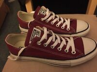 Converse Chuck Taylor shoes - Burgundy - UK size 6