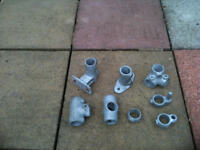 key clamps for walkways or staires