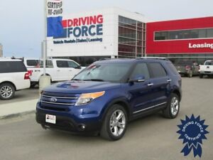 2015 Ford Explorer Limited 7 Passenger SUV, 4x4, Heated Seats