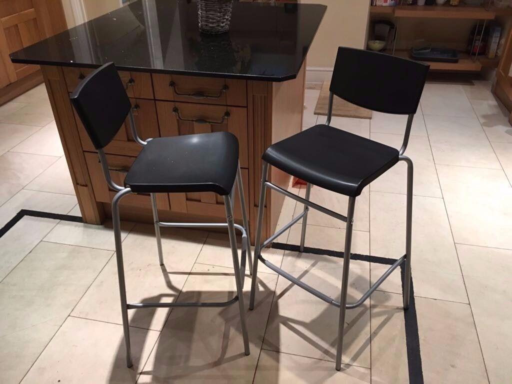 X2 NEW bar stools