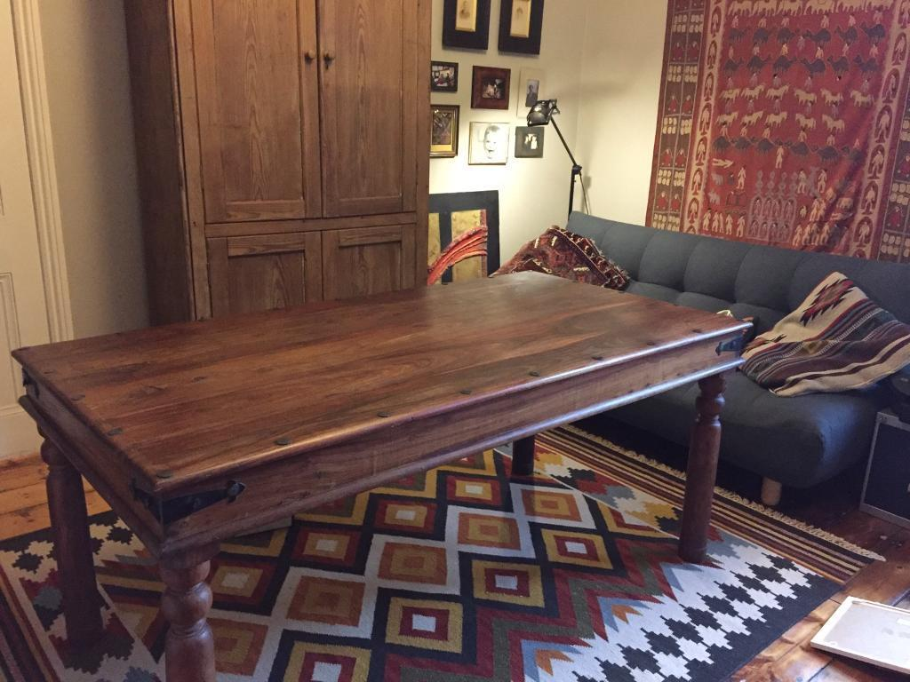 John Lewis Maharani 6 seater Dining Table in Southville  : 86 from www.gumtree.com size 1024 x 768 jpeg 107kB