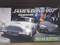 Scalextric: James Bond, Goldfinger, Casino Royale Race Set