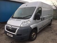 Citroen relay 2.2 6 speed gearbox 2010 year breaking door wing bonnet wheel seats