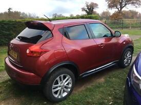 Nissan Juke acenta premium 48000 miles