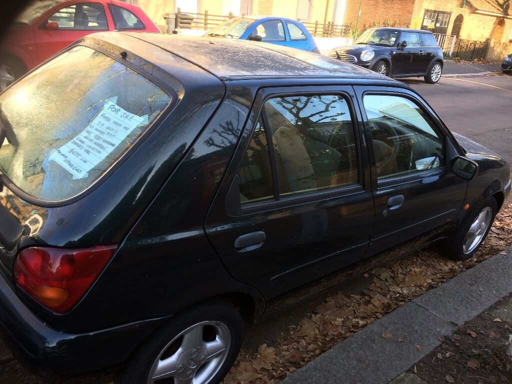 ford fiesta green 1 4 ghia x 1998 in teddington london gumtree. Black Bedroom Furniture Sets. Home Design Ideas
