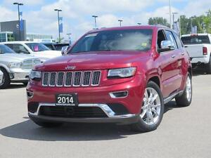 2014 Jeep Grand Cherokee Summit! 4x4! IV Hitch! London Ontario image 1