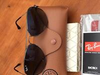 Genuine Ray - Ban Aviator Polarised Sunglasses RB 3025 004/78 58