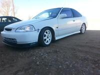1996 Honda Civic Coupe nice car lots of new parts an mods.