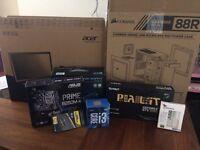 "Custom Gaming PC | i3-7100 | GTX1050 | 240GB SSD | 8GB RAM | 21.5"" LED monitor"
