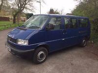 2002 VW Transporter T4 LWB 2.5TDI minibus shuttle caravelle - REDUCED FOR QUICK SALE!!
