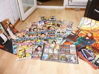 Large Selection of DOCTOR WHO Magazines, Posters, Trading Cards and Badges