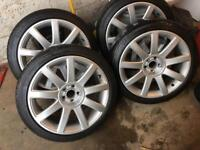 Audi TT wheels 5x100 ( golf mk4 vw seat r32 )