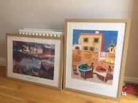 Large Coastal Framed Prints