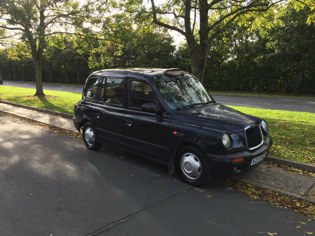 TX1 London Taxi For Sale - Midnight Blue - 2000 - Fair Condition