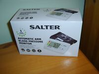 Salter Automatic upper arm Blood Pressure Monitor New in Box