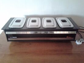 TABLE TOP FOOD AND PLATE WARMER - UNUSED