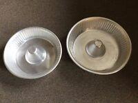 Bundt/Savarin Mould / Ring Cake Tins 31 cm and 27 cm Lightweight Aluminium