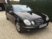 2005 Mercedes E280 Cdi Avantgarde, 71,000 miles, New MOT and turbo, FSH