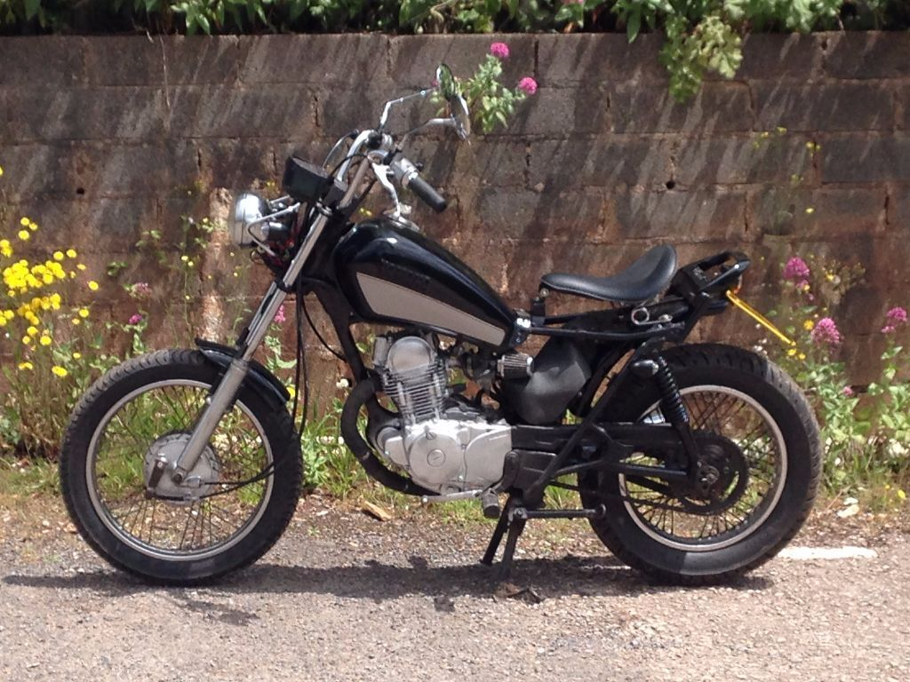 yamaha sr 125 1983 custom chopper bobber 12 months mot in torquay devon gumtree. Black Bedroom Furniture Sets. Home Design Ideas
