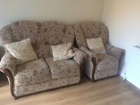 2 seater sofa & armchair - free to collector