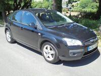 Ford Focus Titanium 1.6 Petrol 5 Door. High Spec. Full 12 Months MOT. Very Good Condition.