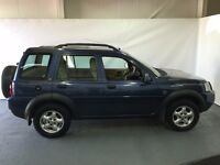 Land Rover Freelander TD4 SE S/W Blue 2005 model 2.0 diesel LONG MOT 4x4 jeep