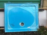 Brand new ceramic shower tray 900 X 760 X 40