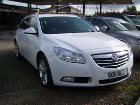 2011 INSIGNIA SRI ESTATE CDTI DIESEL 6 SPEEDGREAT SPEC FSH 2 KEYS HANDBOOK IMMACULATE CAR £5995