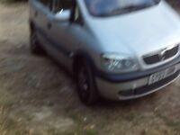 VAUXHALL ZAFIRA MPV PETROL 2003