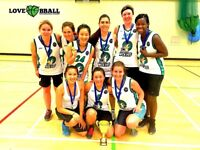 WOMEN'S BASKETBALL SESSIONS IN HACKNEY AND CLAPHAM JUNCTION