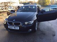 57 plate - bmw 320D - coupe sports- low milleage - 8 months mot