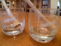 Various drinking glasses