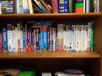 Guidebooks to various countries