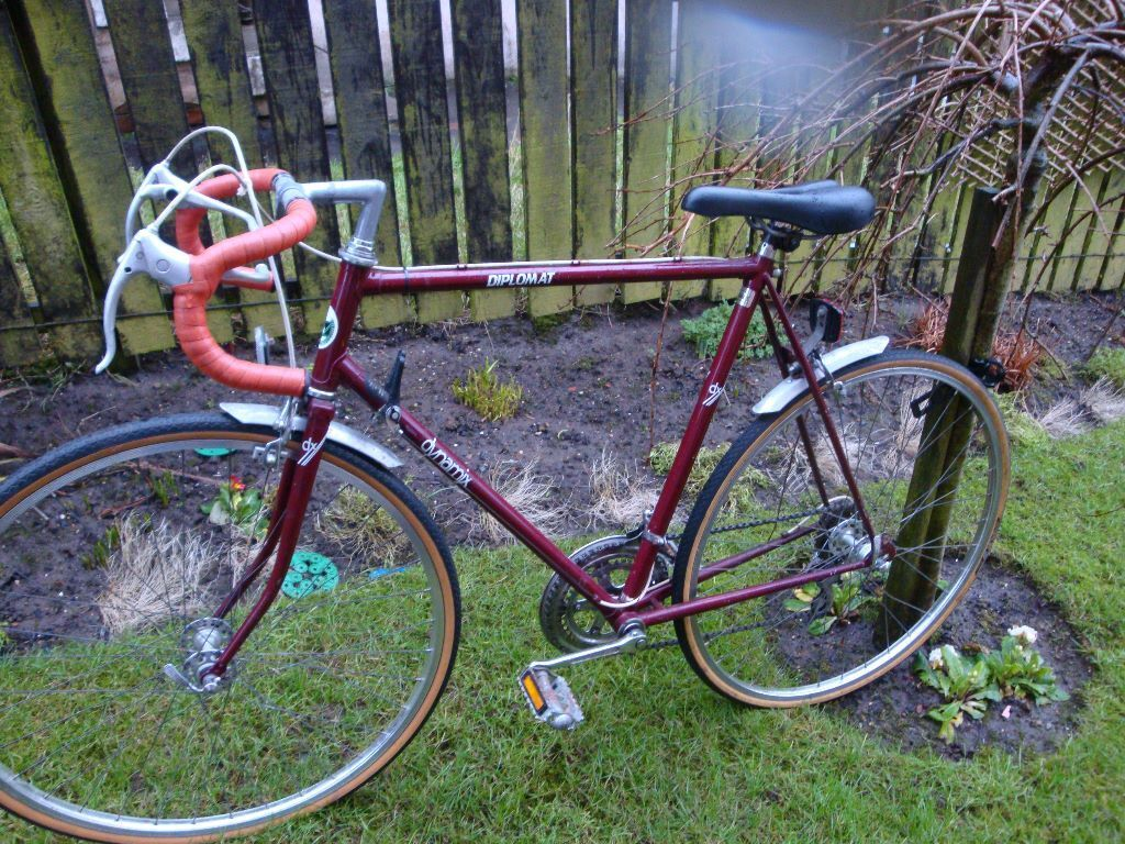 Retro 80s Road Bike Dynamix Diplomat Large 60 Cm Frame In