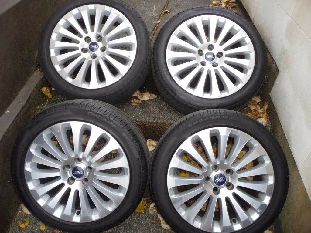 "ford focus 17"" ALLOY WHEELS INC TYRE MAY PX ask"