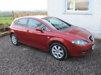 seat leon 1.9 tdi low mileage mot and taxed great condition