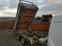 Ifor williams tt85 8x5 electric tipping trailer new brakes