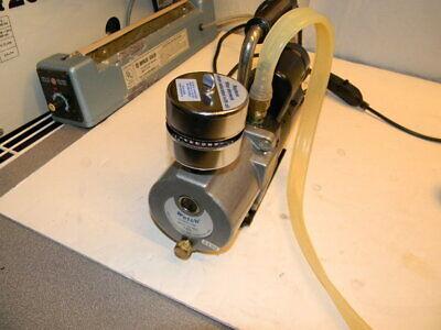 Welch 8803 Vacuum Pump W Franklin Electric 1801007400 18 Hp Motor Used