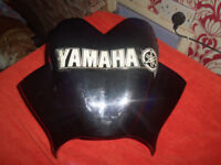 yamaha xjr 1300sp puig fly screen with led yamaha logo