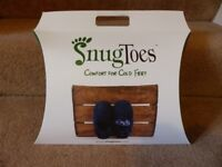 SNUGTOES HEATED SLIPPERS - UNWANTED XMAS PRESENT - MAN'S SIZE 8
