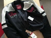 BRAND NEW GIFTED RARE *INDIAN MOTORCYCLE MESH LIGHTWEIGHT JACKET INC LINING AND BODY ARMOUR !V NICE!