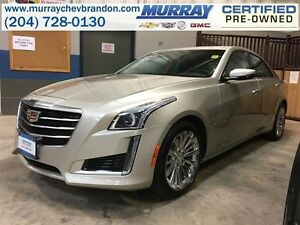 2015 Cadillac CTS Turbo Luxury AWD *Nav* *Blind Side* *Heat/Vent