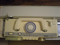 Serviced Brother electronic knitting machine KH 970