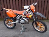Ktm 300 Exc (2002 Model 52 Reg) Road registered Enduro Motocross bike Please read ad 125 250 450