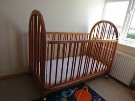 Pine Cot (with mattress, if wanted)