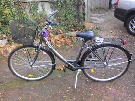 Btwin city bike