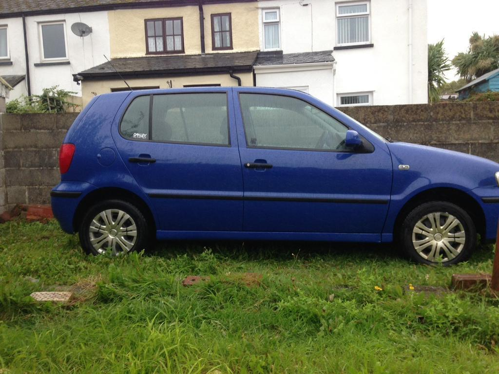 vw polo 2001 1 0 in kingsteignton devon gumtree. Black Bedroom Furniture Sets. Home Design Ideas