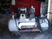 SIP AIRMATE P3/150 3 HP AIR COMPRESSOR